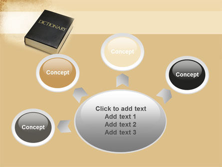 Dictionary Book PowerPoint Template Slide 7