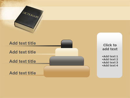 Dictionary Book PowerPoint Template Slide 8