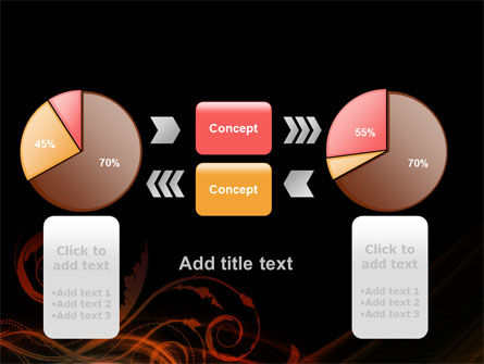 Red Curves PowerPoint Template Slide 16