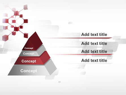 3D Cluster PowerPoint Template Slide 12