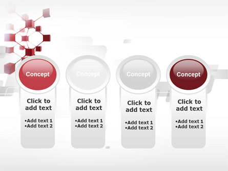 3D Cluster PowerPoint Template Slide 5