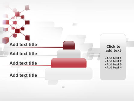 3D Cluster PowerPoint Template Slide 8