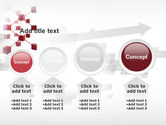 3D Cluster PowerPoint Template#13
