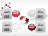 3D Cluster PowerPoint Template#9