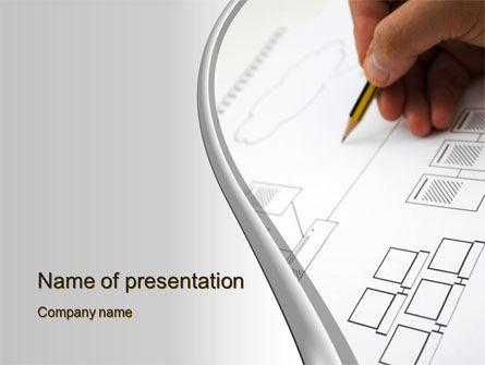 Topology PowerPoint Template, 10356, Technology and Science — PoweredTemplate.com