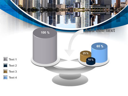 City Reflection PowerPoint Template Slide 10