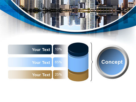 City Reflection PowerPoint Template Slide 11