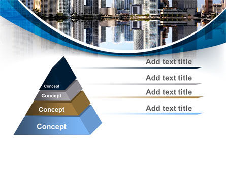 City Reflection PowerPoint Template Slide 12