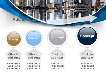 City Reflection PowerPoint Template Slide 13