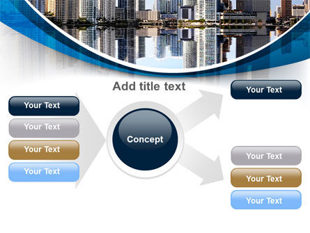 City Reflection PowerPoint Template Slide 14
