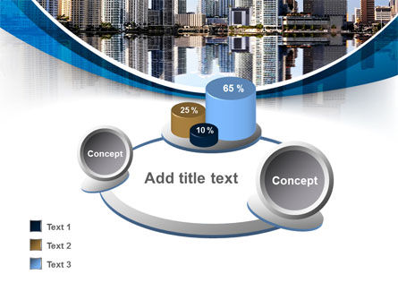 City Reflection PowerPoint Template Slide 16