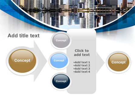 City Reflection PowerPoint Template Slide 17