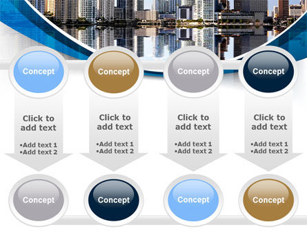 City Reflection PowerPoint Template Slide 18