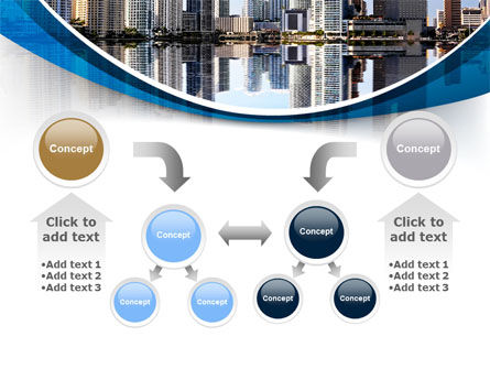 City Reflection PowerPoint Template Slide 19