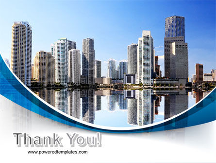 City Reflection PowerPoint Template Slide 20