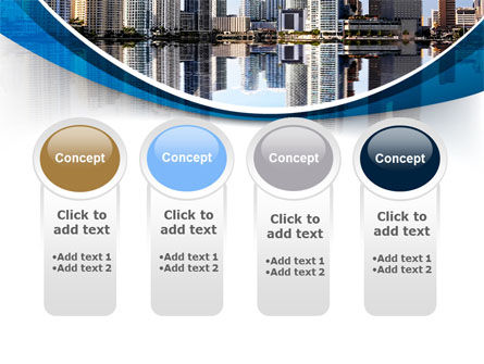 City Reflection PowerPoint Template Slide 5