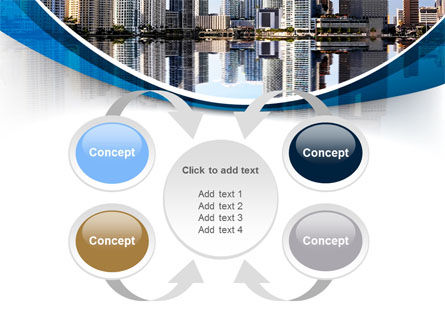 City Reflection PowerPoint Template Slide 6