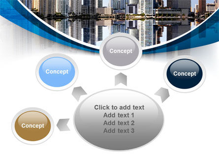 City Reflection PowerPoint Template Slide 7