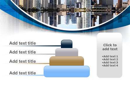 City Reflection PowerPoint Template Slide 8