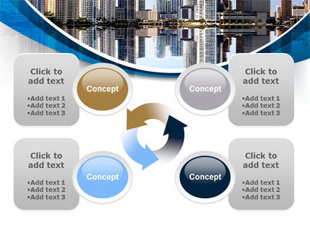 City Reflection PowerPoint Template Slide 9