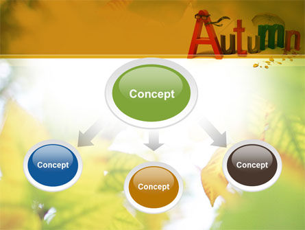 3D Autumn PowerPoint Template, Slide 4, 10360, Nature & Environment — PoweredTemplate.com