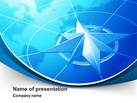 Wind Rose PowerPoint Template