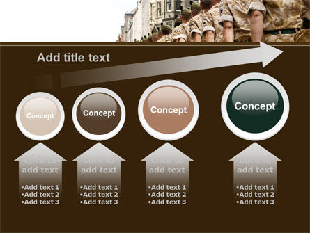 Soldiers March PowerPoint Template Slide 13