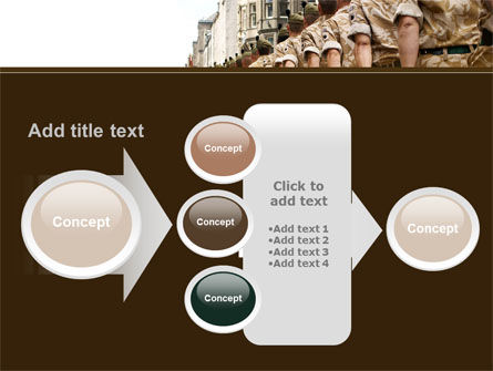 Soldiers March PowerPoint Template Slide 17