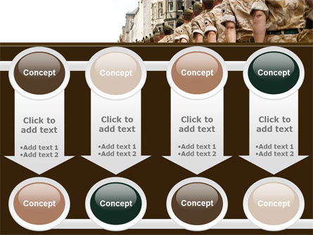 Soldiers March PowerPoint Template Slide 18