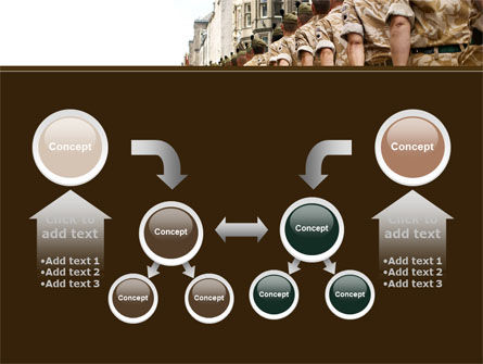 Soldiers March PowerPoint Template Slide 19