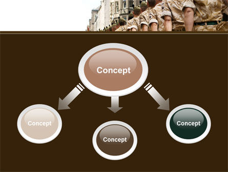 Soldiers March PowerPoint Template Slide 4