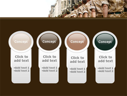 Soldiers March PowerPoint Template Slide 5