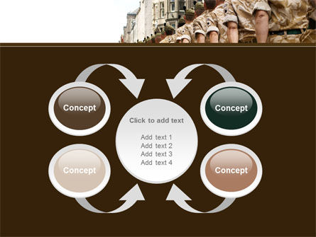 Soldiers March PowerPoint Template Slide 6