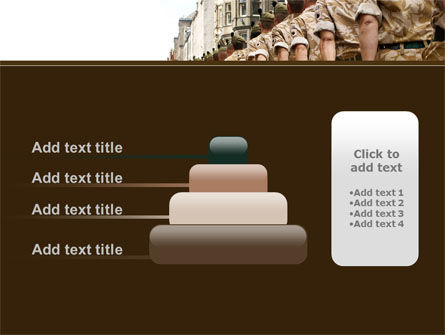 Soldiers March PowerPoint Template Slide 8