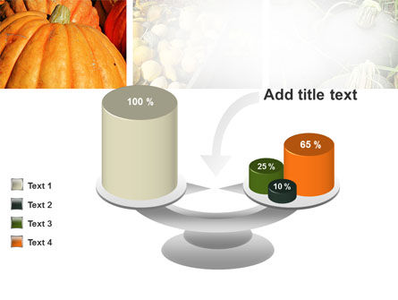 Pumpkin PowerPoint Template Slide 10