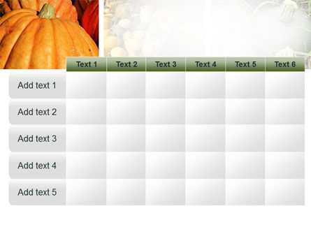 Pumpkin PowerPoint Template Slide 15