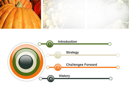 Pumpkin PowerPoint Template Slide 3