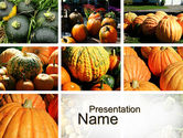 Pumpkin PowerPoint Template#1