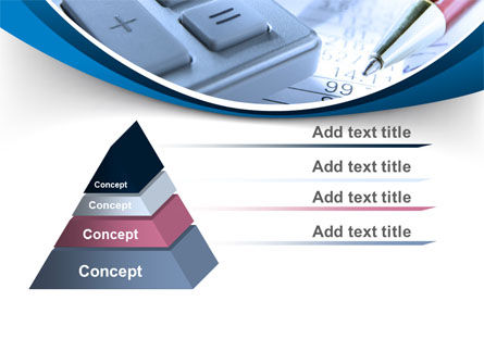 Financial Calculations PowerPoint Template Slide 12