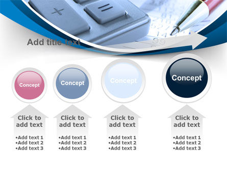 Financial Calculations PowerPoint Template Slide 13