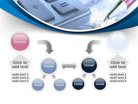 Financial Calculations PowerPoint Template Slide 19