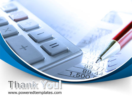 Financial Calculations PowerPoint Template Slide 20