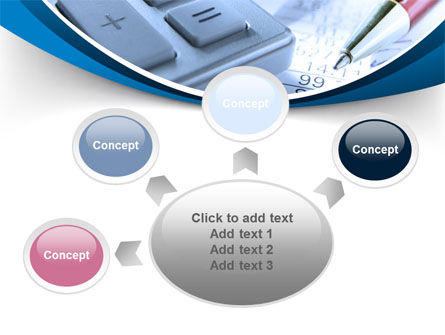 Financial Calculations PowerPoint Template Slide 7