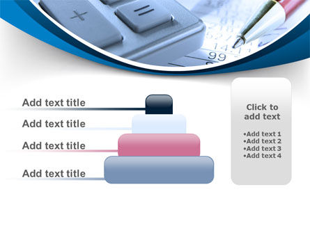 Financial Calculations PowerPoint Template Slide 8