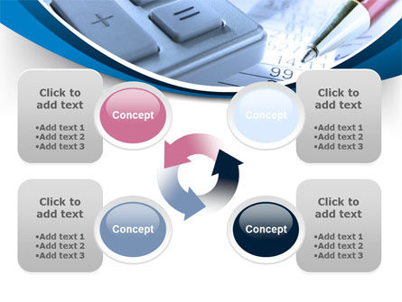 Financial Calculations PowerPoint Template Slide 9