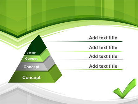Check Mark PowerPoint Template Slide 12