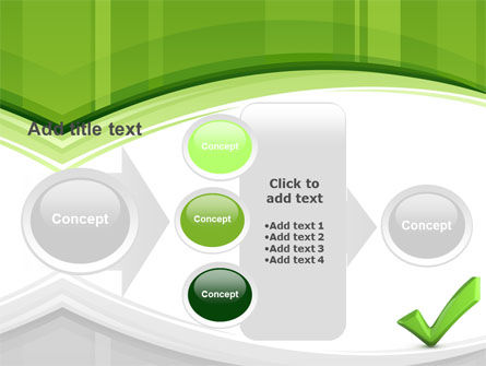 Check Mark PowerPoint Template Slide 17