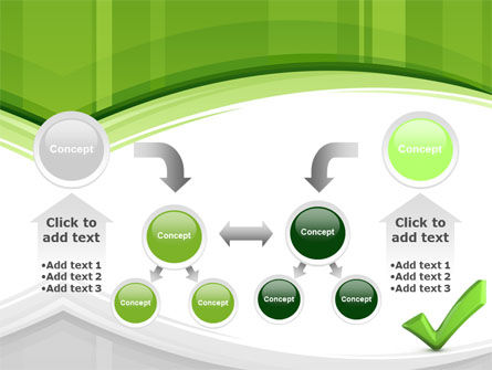 Check Mark PowerPoint Template Slide 19
