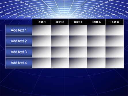 Gravity Grid PowerPoint Template Slide 15