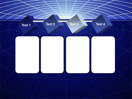 Gravity Grid PowerPoint Template Slide 18